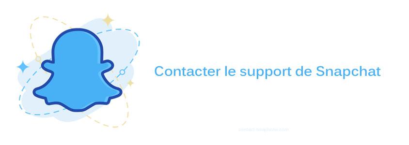 Contacter Snapchat