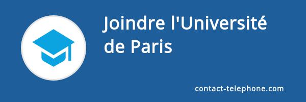 contact universite paris