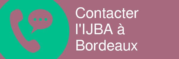 contacter ijba bordeaux