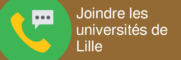 joindre universite lille