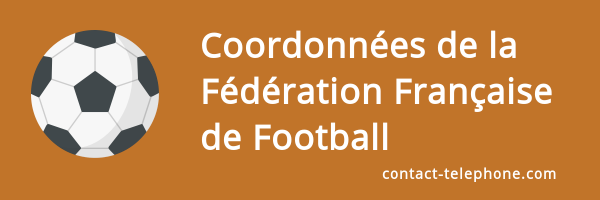 coordonnees federation francaise football