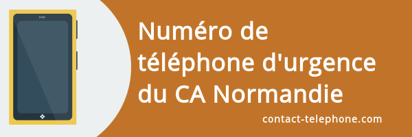 telephone urgence credit agricole normandie