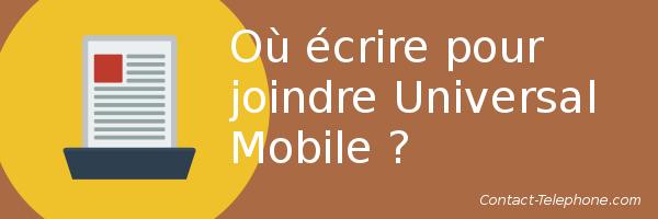 adresse universal mobile