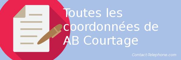 coordonnees ab courtage