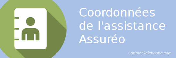 coordonnees assitance assureo