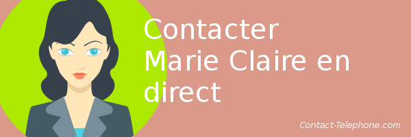 marie claire telephone email