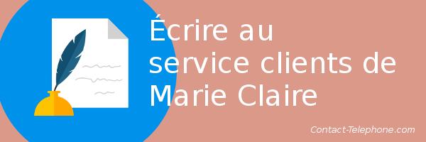 service client marie claire
