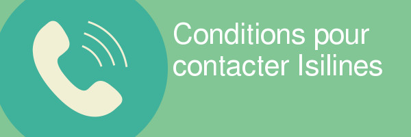 conditions contacter isilines