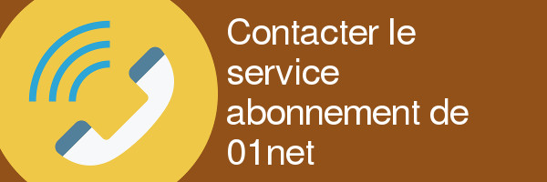 contact abonnement 01net