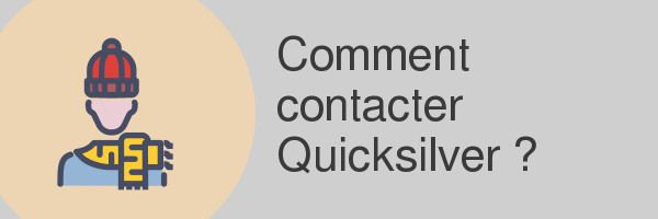 contacter quicksilver
