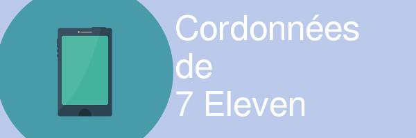 coordonnees 7 eleven