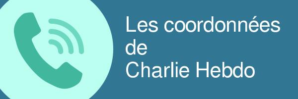 coordonnees charlie hebdo