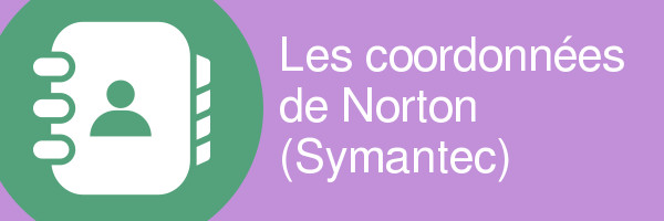 coordonnees symantec norton antivirus