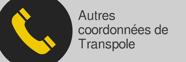 coordonnees transpole