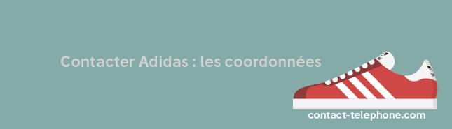 Comment contacter Adidas France en ligne, par téléphone ou