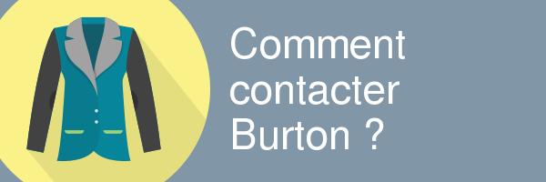 contacter burton