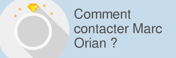 contacter marc orian