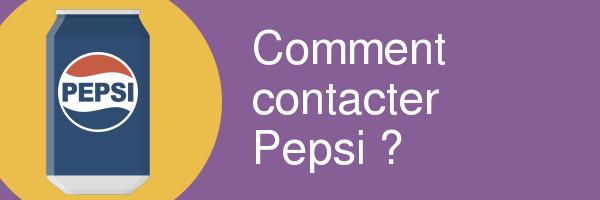 contacter pepsi