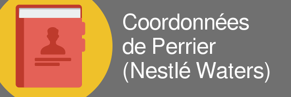 coordonees perrier nestle waters