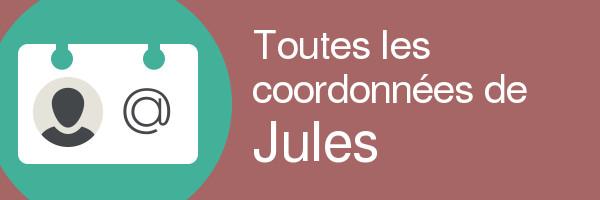 coordonnees jules
