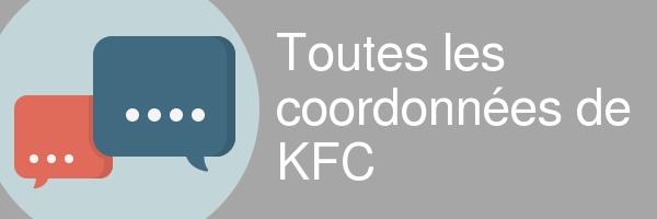 coordonnees kfc