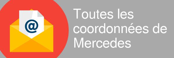 coordonnees mercedes
