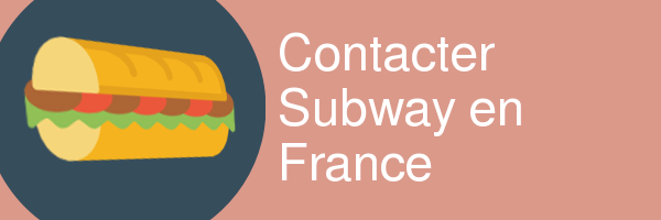 contacter subway