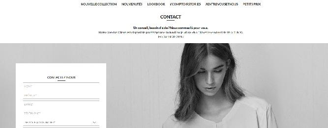 Contact comptoir des cotonniers service apr s vente client recrutement - Site comptoir des cotonniers ...