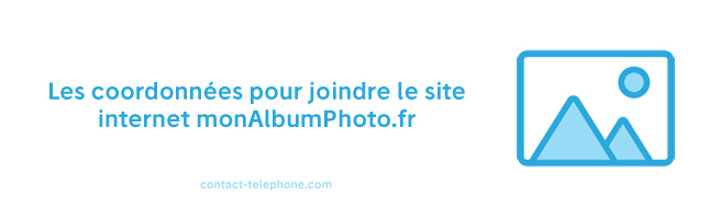 Contacter monAlbumPhoto