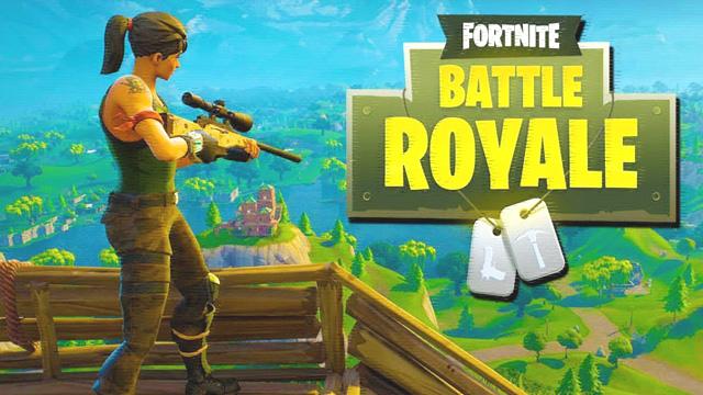 Image du jeu Fortnite Battle Royale (Epic Games).