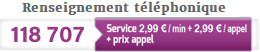 renseignement telephonique