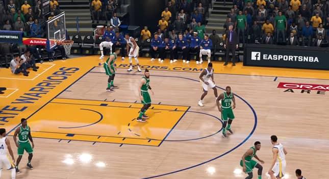 Contact NBA Live EA Sports