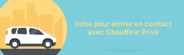 Contact Chauffeur Prive