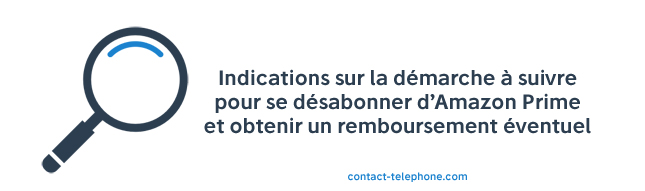 Contact abonnement Amazon Prime