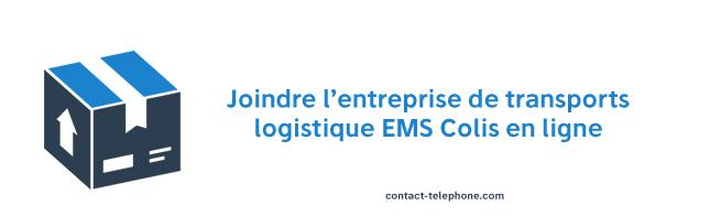 Contacter EMS Colis