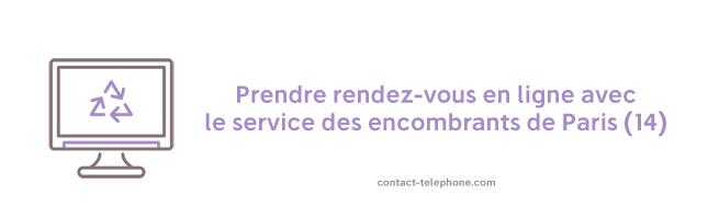 Contacter les Encombrants Paris 14