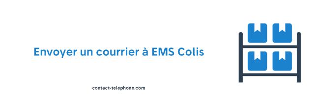 EMS Colis Adresse et numero