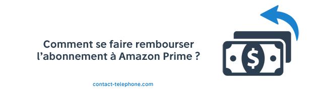 Remboursement Amazon Prime