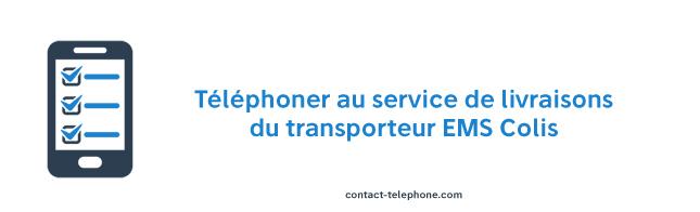 Telephone EMS Colis