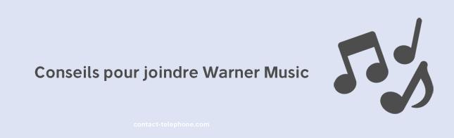 Adresse Telephone Warner Music