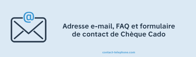 Cheque Cado Contact Mail