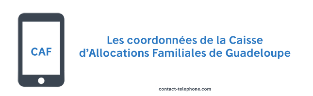 Contact CAF Guadeloupe