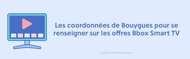 Contacter Bouygues Bbox Smart TV