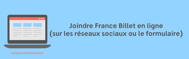 Contacter France Billet