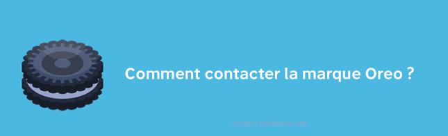 Contacter Oreo