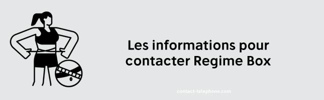 Contacter Regime box