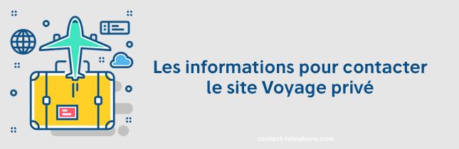 Contacter Voyage Prive