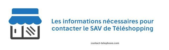 Contacter le SAV de Teleshopping