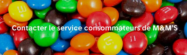 Service consommateurs m&m's