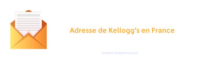 Adresse service consommateur Kellogg's